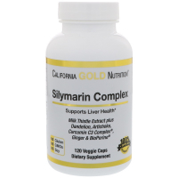 California Gold Nutrition Silymarin Complex 300 mg - Силимарин (экстракт расторопши пятнистой)