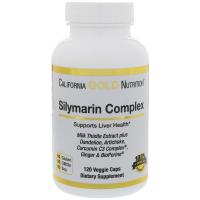 California Gold Nutrition Silymarin Complex 300 mg - Силимарин (экстракт расторопши пятнистой)