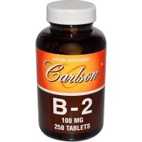 Carlson Labs B-2 100 mg - Рибофлавин
