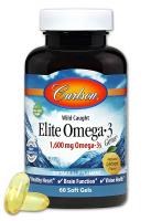 Carlson Labs Elite Omega-3 1600 mg