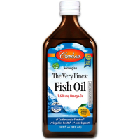 Carlson Labs The Very Finest Fish Oil 1600 mg (вкус лимона)