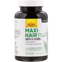 Country Life Maxi Hair Plus 5,000 mcg Biotin
