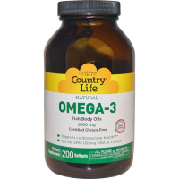 Country Life Omega-3 1000 mg