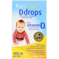 Ddrops Baby Liquid Vitamin D3 400 IU (2.5 мл)