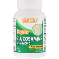Deva Vegan Glucosamine MSM & CMO