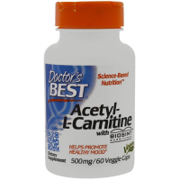 Doctor's Best Acetyl L-Carnitine 500 mg