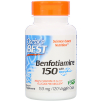 Doctor's Best Benfotiamine 150 with BenfoPure 150 mg - Бенфотиамин