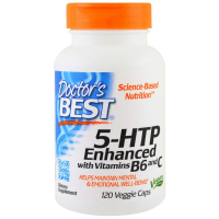 Doctor's Best Best 5-HTP Enhanced with Vitamins B6 & C 100 mg