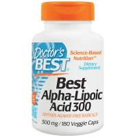 Doctor's Best Best Alpha-Lipoic Acid 300 mg