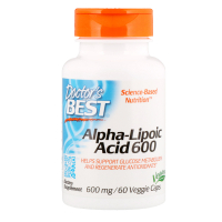 Doctor's Best Best Alpha-Lipoic Acid 600 mg