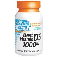 Doctor's Best Best Vitamin D-3 1000 МЕ