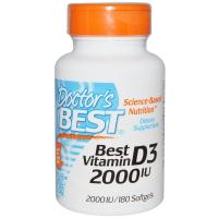 Doctor's Best Best Vitamin D-3 2000 МЕ