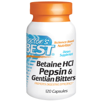 Doctor's Best Betaine HCL Pepsin & Gentian Bitters