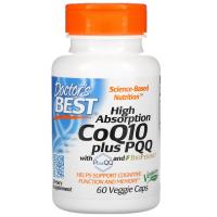 Doctor's Best CoQ10 100 mg PQQ 20 mg