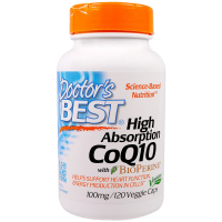 Doctor's Best CoQ10 with BioPerine 100 mg (120 капс)