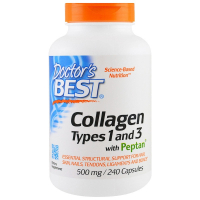 Doctor's Best Collagen Types 1 and 3 with Peptan 500 mg