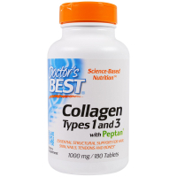Doctor's Best Collagen Types 1 and 3 with Peptan 1000 mg