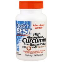 Doctor's Best Curcumin High Absorption 500 mg - Куркумин