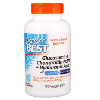 Doctor's Best Glucosamine Chondroitin MSM + Hyaluronic Acid