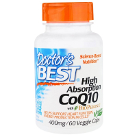 Doctor's Best High Absorption CoQ10 with BioPerine 400 mg