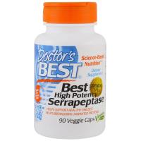 Doctor's Best High Potency Serrapeptase 120 000 - Серрапептаза с высокой эффективностью