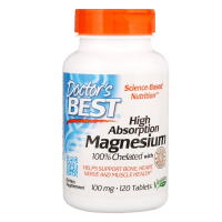 Doctor's Best Magnesium 100 % Chelated - Магний хелатный