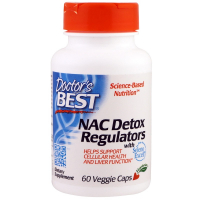 Doctor's Best NAC Detox Regulators - Регулятор детоксикации N-ацетилцистеин