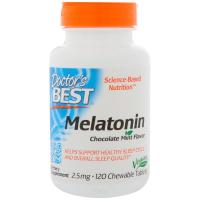Doctor's Best Quick Melt Melatonin 2.5 mg