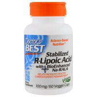 Doctor's Best Stabilized R-Lipoic Acid 100 mg