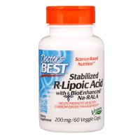 Doctor's Best Stabilized R-Lipoic Acid 200 mg