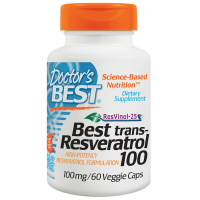 Doctor's Best Trans-Resveratrol 100 100 mg - Ресвератрол