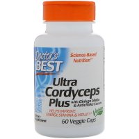 Doctor's Best Ultra Cordyceps Plus - Кордицепс