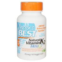 Doctor's Best MK-7 Vitamin K-2 with MenaQ7 45 mcg