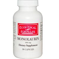 Ecological Formulas Monolaurin 600 mg