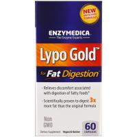 Enzymedica Lypo Gold - препарат для переваривания жиров