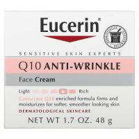 Eucerin Q10 Anti-Wrinkle Face Cream (48 гр) - Крем для лица против морщин с коэнзимом Q10