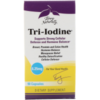 EuroPharma Terry Naturally Tri-Iodine 6.25 mg