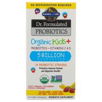 Garden of Life Dr. Formulated Probiotics Organic Kids+  Органические пробиотики для детей