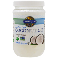 Garden of Life Raw Extra Virgin Coconut Oil (414 мл) - Кокосовое масло