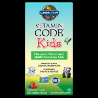 Garden of Life Vitamin Code Kids - Мультивитамины для детей