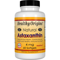 Healthy Origins Astaxanthin 4 mg