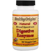 Healthy Origins Digestive Enzymes - Пищеварительные ферменты широкого спектра