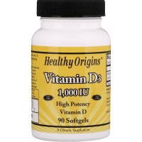 Healthy Origins Vitamin D3 1000 IU