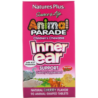 Nature's Plus Animal Parade Children's Chewable Inner Ear Support