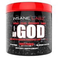 Insane Labz I am GOD