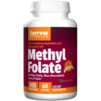 Jarrow Formulas Methyl Folate 400 mcg
