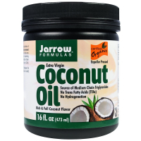 Jarrow Formulas Organic Extra Virgin Coconut Oil (473 гр) - Кокосовое масло