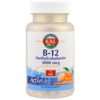 KAL B-12 Methylcobalamin 1000 mcg