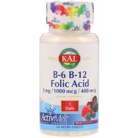 KAL B-6 B-12 Folic Acid