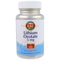 KAL Lithium Orotate 5 mg